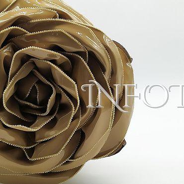 Сумки и аксессуары ручной работы. Ярмарка Мастеров - ручная работа Эксклюзивная авторкая сумка-роза (натуральная кожа). Handmade.