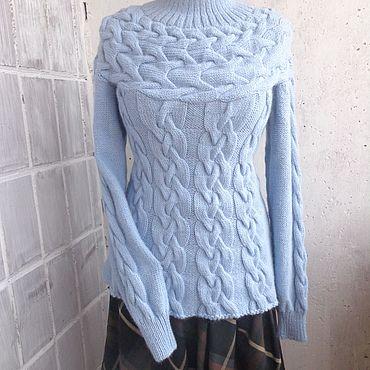 Одежда ручной работы. Ярмарка Мастеров - ручная работа Пуловеры: Небо. Handmade.