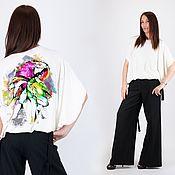 Одежда handmade. Livemaster - original item Women`s Printed Tunic-TP0450TR. Handmade.