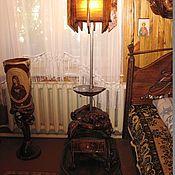 Для дома и интерьера handmade. Livemaster - original item Floor lamp lion and the mermaid. Handmade.