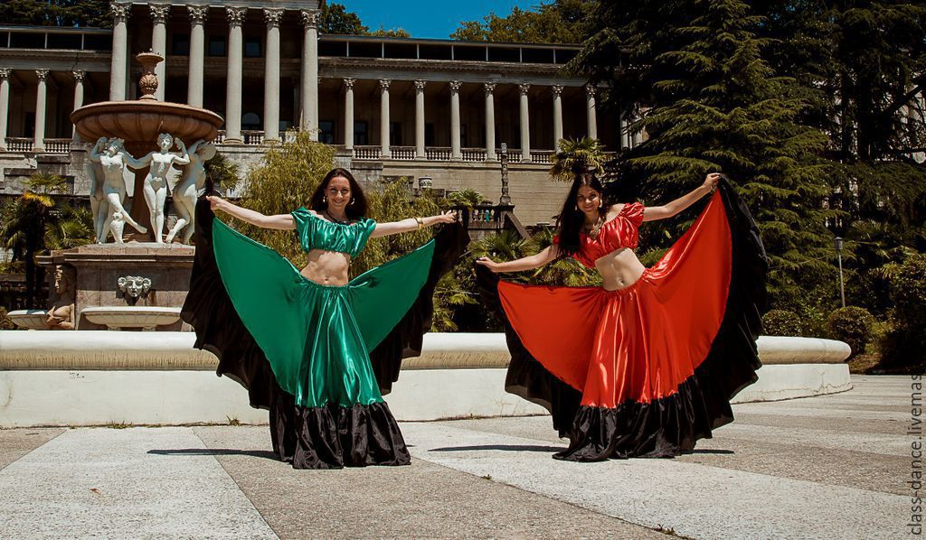 Оборка для цыганской юбки