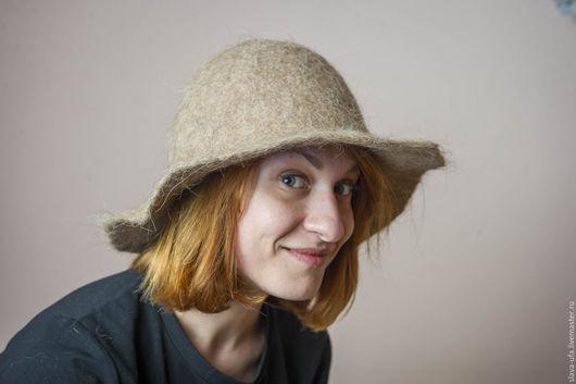 Шляпы ручной работы. Ярмарка Мастеров - ручная работа. Купить Шляпа Соломенное утро. Handmade. Бежевый, тепло, соломенный