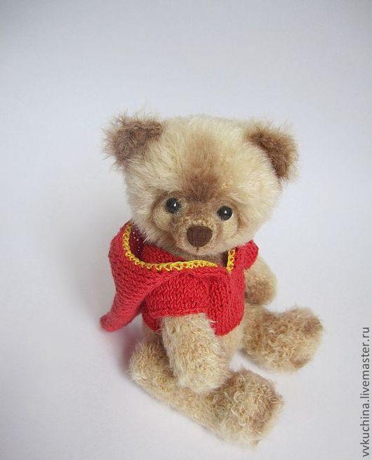 Мишки Тедди ручной работы. Ярмарка Мастеров - ручная работа. Купить Мишка Фаня вязаный. Handmade. Бежевый, мишка