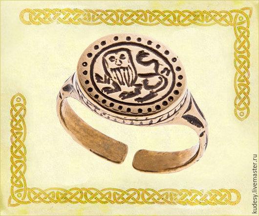 """Кольца ручной работы. Ярмарка Мастеров - ручная работа. Купить Перстень литой """"Лютый зверь"""". Handmade. Серебряный, перстень"""