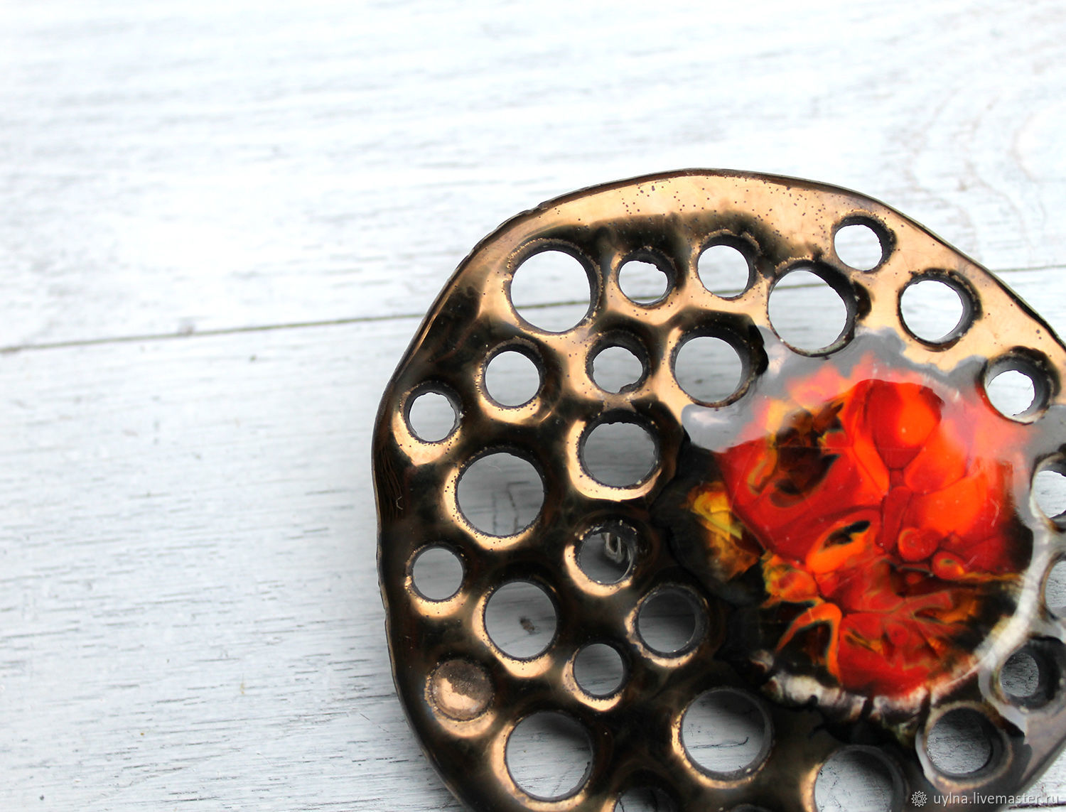 Brooch: A little fire, Badge, Moscow,  Фото №1