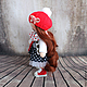 Коллекционные куклы ручной работы. Иришка, 24см - интерьерная кукла. Светлана Теницкая. Интернет-магазин Ярмарка Мастеров. Тильда кукла