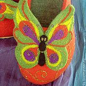 Обувь ручной работы. Ярмарка Мастеров - ручная работа Тапочки валяные для маленькой Феи. Handmade.