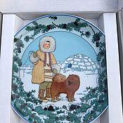 Винтаж handmade. Livemaster - original item Plate, Villeroy&Boch,