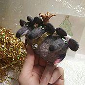 Год Крысы ручной работы. Ярмарка Мастеров - ручная работа Мышиный король. Handmade.