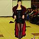 """Верхняя одежда ручной работы. Ярмарка Мастеров - ручная работа. Купить Роскошное кружевное пальто с песцовым воротником """"Бордо"""" в разных цвет. Handmade."""
