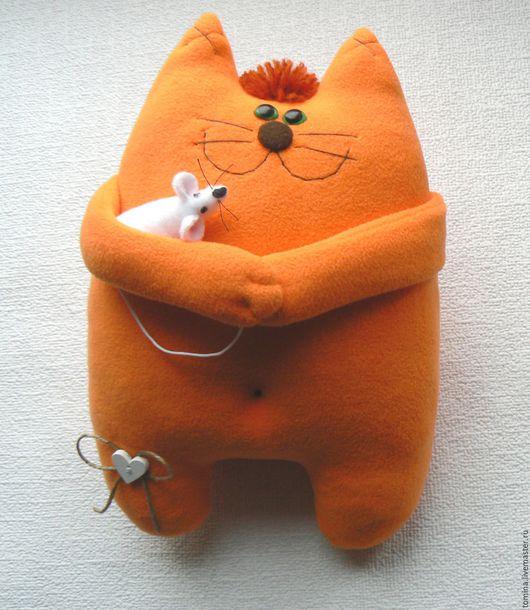 Кот. Коты. Коты и кошки. Котик. Прикольный кот. Кот в подарок. Оригинальный подарок. Мягкая игрушка кот. Кот и мышь.