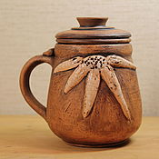 Посуда ручной работы. Ярмарка Мастеров - ручная работа Кружка чайная -заварочная. Handmade.