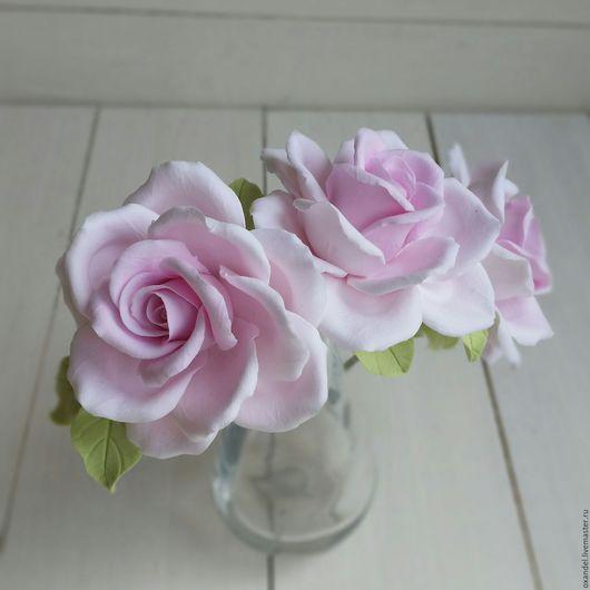 Диадемы, обручи ручной работы. Ярмарка Мастеров - ручная работа. Купить Ободок с розами. Handmade. Ободок для волос, свадебное украшение