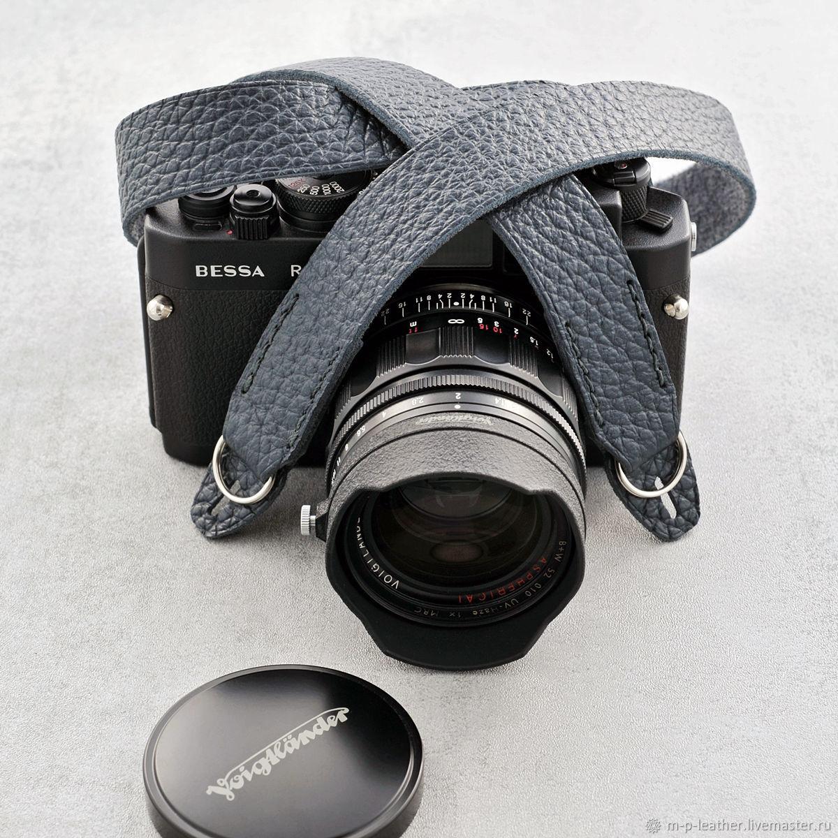 Ремень для фотоаппарата DARKROOM. Натуральная кожа, Ремни, Санкт-Петербург,  Фото №1
