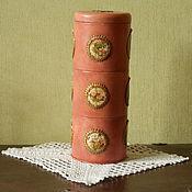 """Для дома и интерьера ручной работы. Ярмарка Мастеров - ручная работа Банка """" Цветочная башня """". Handmade."""