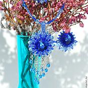 Украшения handmade. Livemaster - original item Pendant and earrings bead