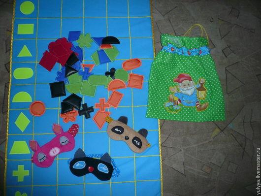 Развивающие игрушки ручной работы. Ярмарка Мастеров - ручная работа. Купить Чудесный мешочек. Handmade. Развивающая игрушка, подарок ребенку