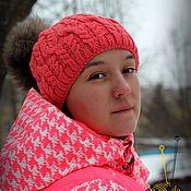 Обучающие материалы ручной работы. Ярмарка Мастеров - ручная работа МК-описание шапки Kosmeya (Космея). Handmade.