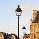 Париж. Лувр на закате дня-2