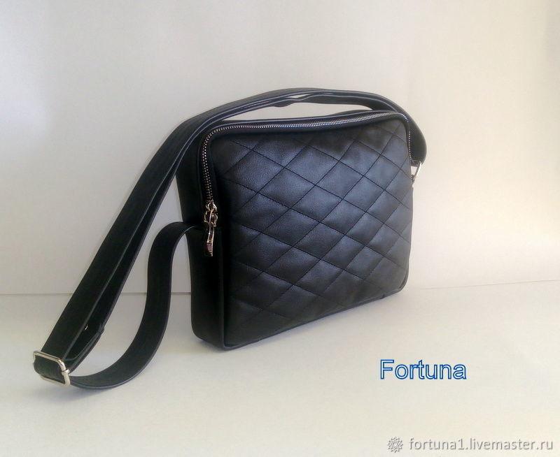 Bag leather shoulder, Crossbody bag, St. Petersburg,  Фото №1