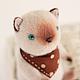 Мишки Тедди ручной работы. Ярмарка Мастеров - ручная работа. Купить Котик сиамский. Handmade. Белый, котенок. Клетчатый Крокодил.