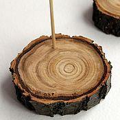 Материалы для кукол и игрушек ручной работы. Ярмарка Мастеров - ручная работа ЭКО - подставка из натурального дерева. Handmade.