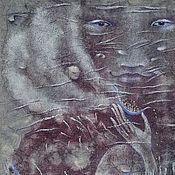 Картины и панно ручной работы. Ярмарка Мастеров - ручная работа Лики Неба. Селена.. Handmade.