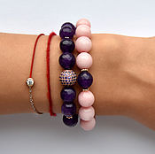 Украшения handmade. Livemaster - original item A set of bracelets of agate