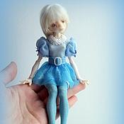 Куклы и игрушки ручной работы. Ярмарка Мастеров - ручная работа Овечка Зефирка шарнирная кукла. Handmade.