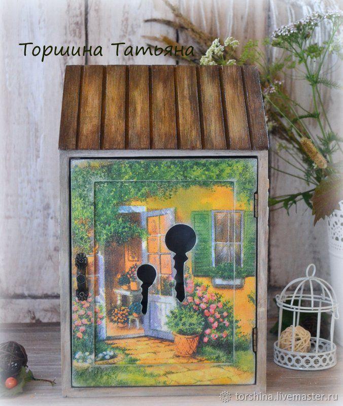 """Ключница """"Однажды летом"""", Ключницы настенные, Новосибирск,  Фото №1"""