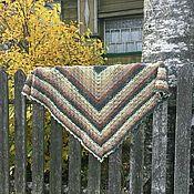 Шали ручной работы. Ярмарка Мастеров - ручная работа Шаль зимняя Матрёшка. Handmade.
