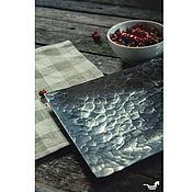 Для дома и интерьера ручной работы. Ярмарка Мастеров - ручная работа Прямоугольное кованое блюдо. Handmade.