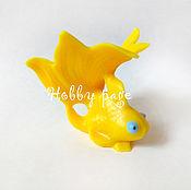 Материалы для творчества handmade. Livemaster - original item Silicone molds for soap goldfish. Handmade.
