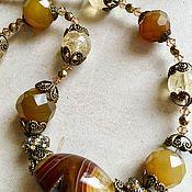 Украшения handmade. Livemaster - original item Beads from Natural Stones. Handmade.