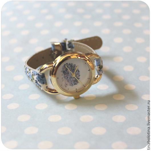 Часы ручной работы. Ярмарка Мастеров - ручная работа. Купить Дизайнерские наручные часы Черничный Ёжик. Handmade. интересный подарок