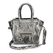Сумки и аксессуары handmade. Livemaster - original item Bag made of Python leather SELENE. Handmade.
