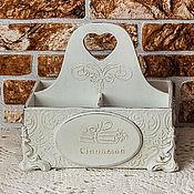 "Для дома и интерьера handmade. Livemaster - original item Box for spices ""Dairy lace"". Handmade."