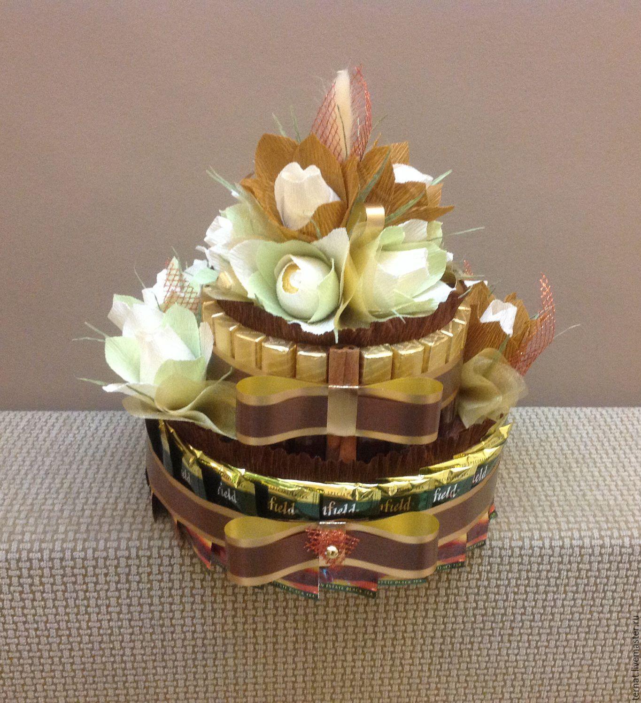 Торт и конфет с цветами своими руками фото 966