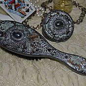 Для дома и интерьера handmade. Livemaster - original item The mirror and comb