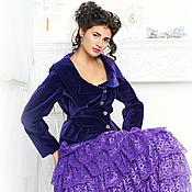 Одежда ручной работы. Ярмарка Мастеров - ручная работа многоярусная юбка.кружево.. Handmade.