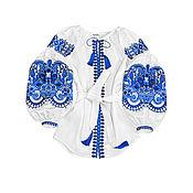 """Одежда handmade. Livemaster - original item Блуза с вышивкой """"Восточная Сказка"""" на кнопках. Handmade."""