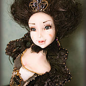 Куклы и игрушки ручной работы. Ярмарка Мастеров - ручная работа Шахматная королева. Handmade.