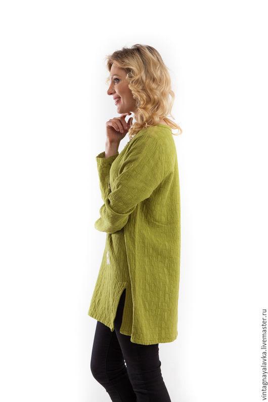 """Пиджаки, жакеты ручной работы. Ярмарка Мастеров - ручная работа. Купить Туника """"Сочная трава"""". Handmade. Авторская одежда, handmade"""