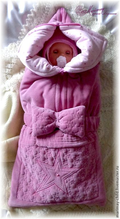 """Для новорожденных, ручной работы. Ярмарка Мастеров - ручная работа. Купить Комплект одежды """"Звёздочка моя ясная"""". Handmade. Новорожденным"""
