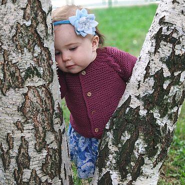 Одежда ручной работы. Ярмарка Мастеров - ручная работа Жакет вязаный детский. Handmade.