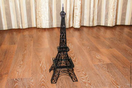 """Статуэтки ручной работы. Ярмарка Мастеров - ручная работа. Купить Эйфелева башня """"Железная дама Парижа"""". Handmade. Эйфелевая башня"""