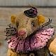 Мишки Тедди ручной работы. Ярмарка Мастеров - ручная работа. Купить Месье Жан и малышка Таффи (последний из коллекции). Handmade.
