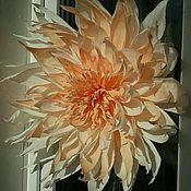 Подвески ручной работы. Ярмарка Мастеров - ручная работа бумажный цветок. Handmade.