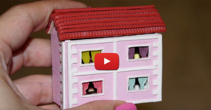 Кукольный домик своими руками из фанеры, коробки,…