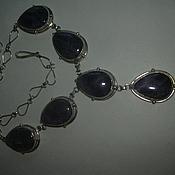 Украшения handmade. Livemaster - original item Gorgeous AMETHYST choker,silver.. Handmade.